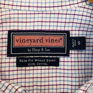 Boys Slim Fit Whale Shirt Vineyard Vines